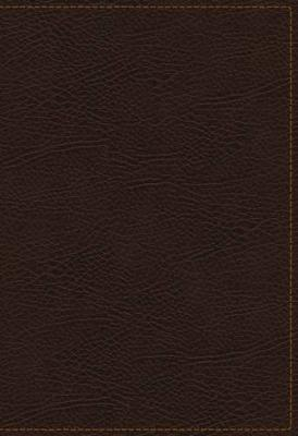 KJV, The King James Study Bible, Bonded Leather, Brown, Thumb Indexed, Red Letter, Full-Color Edition: Holy Bible, King James Version (Leather / fine binding)