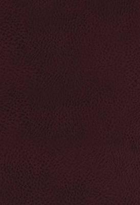 KJV, The King James Study Bible, Bonded Leather, Burgundy, Indexed, Full-Color Edition (Leather / fine binding)