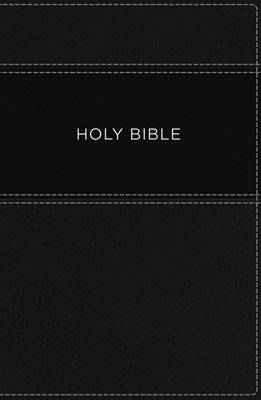 KJV, Apply the Word Study Bible, Large Print, Leathersoft, Black, Red Letter Edition: Live in His Steps (Leather / fine binding)