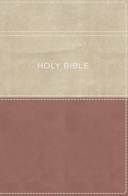 KJV, Apply the Word Study Bible, Large Print, Leathersoft, Pink/Cream, Indexed, Red Letter Edition: Live in His Steps (Leather / fine binding)