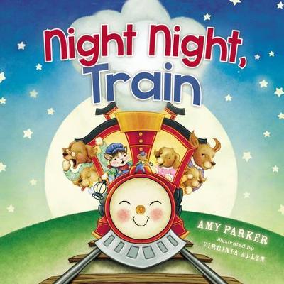 Night Night, Train - Night Night (Board book)
