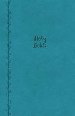 KJV, Value Thinline Bible, Compact, Leathersoft, Blue, Red Letter Edition, Comfort Print (Leather / fine binding)