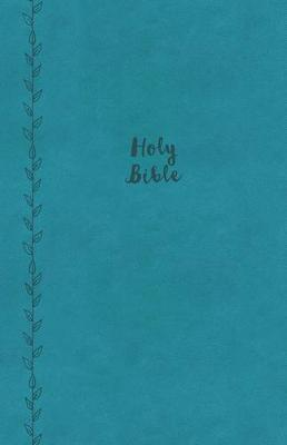KJV, Value Thinline Bible, Large Print, Leathersoft, Blue, Red Letter Edition, Comfort Print (Leather / fine binding)