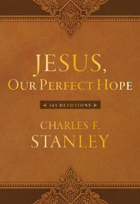 Jesus, Our Perfect Hope: 365 Devotions (Leather / fine binding)