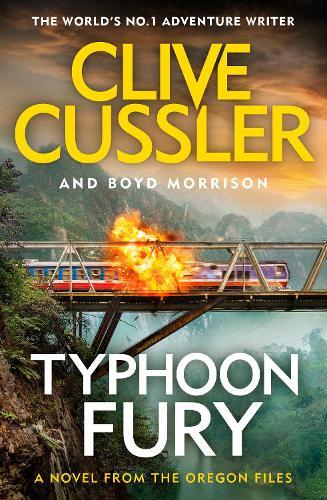 Typhoon Fury: Oregon Files #12 - The Oregon Files (Hardback)