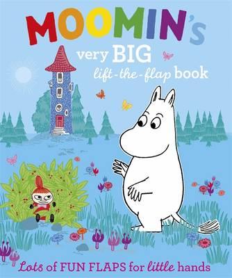 Moomin's Very Big Lift-the-flap Book - Moomin (Board book)