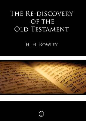 The Rediscovery of the Old Testament (Paperback)