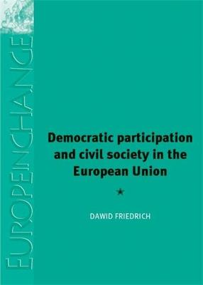Democratic Participation and Civil Society in the European Union - Europe in Change (Hardback)
