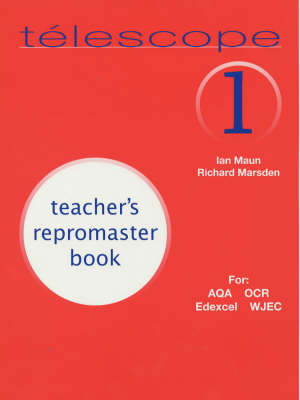 Telescope 1: Teacher's Repromaster Book (Paperback)