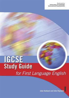 IGCSE Study Guide for First Language English - IGCSE Study Guides (Paperback)