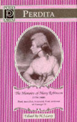 Perdita: Memoirs of Mary Robinson (Hardback)