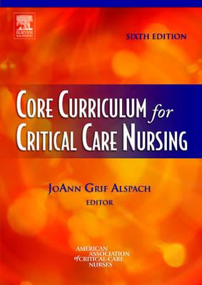 Core Curriculum for Critical Care Nursing (Paperback)