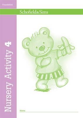 Nursery Activity Book 4 - Nursery Activity (Paperback)