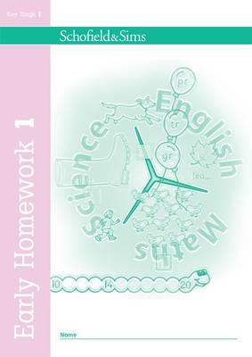 Early Homework Book 1 - Early Homework (Paperback)