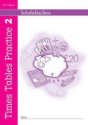 Times Tables Practice Book 2 - Times Tables Practice (Paperback)