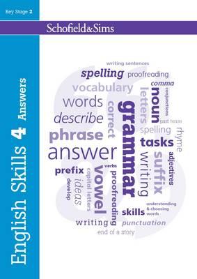 English Skills Answers Book 4 - English Skills (Paperback)