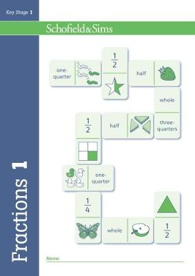 Fractions, Decimals and Percentages Book 1 (Year 1, Ages 5-6) (Paperback)