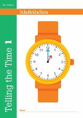 Telling the Time Book 1 (KS1 Maths, Ages 5-6) (Paperback)