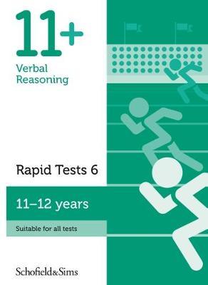 11+ Verbal Reasoning Rapid Tests Book 6: Year 6-7, Ages 11-12 (Paperback)