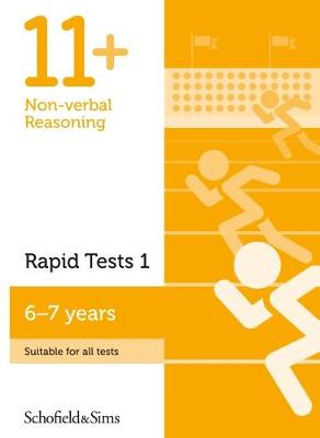 11+ Non-verbal Reasoning Rapid Tests Book 1: Year 2, Ages 6-7 (Paperback)