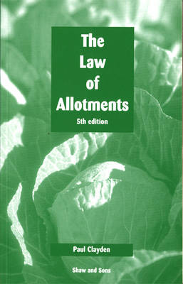Law of Allotments (Paperback)