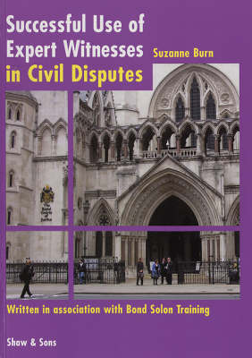 Successful Use of Expert Witnesses (Paperback)