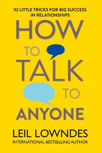 How to Talk to Anyone: 92 Little Tricks for Big Success in Relationships (Paperback)