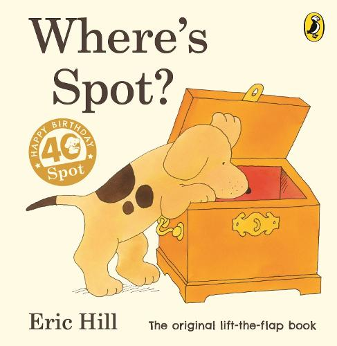 Cover of the book, Where's Spot?.