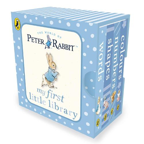 Peter Rabbit My First Little Library - PR Baby books (Board book)