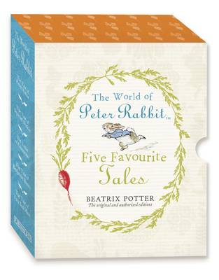 The World of Peter Rabbit Five Favourite Tales from Beatrix Potter (Hardback)