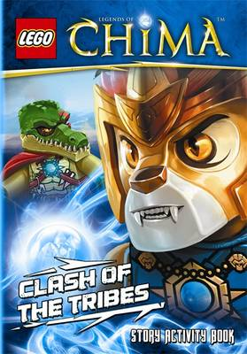 LEGO Legends of Chima: Clash of the Tribes Story Activity Book (Paperback)