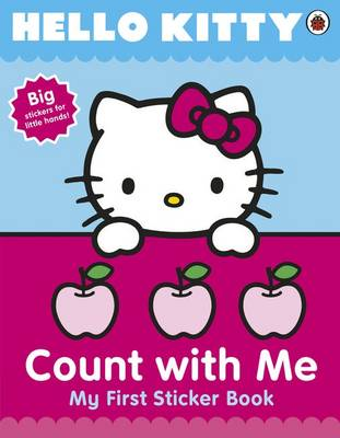 Hello Kitty Count with Me Sticker Book (Paperback)
