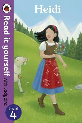 Heidi - Read it yourself with Ladybird: Level 4 - Read It Yourself (Paperback)