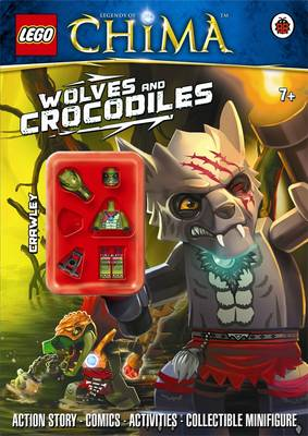 LEGO Legends of Chima: Wolves and Crocodiles Activity Book with Minifigure - LEGO (Paperback)