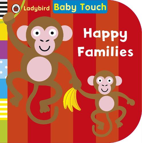 Baby Touch: Happy Families (Board book)