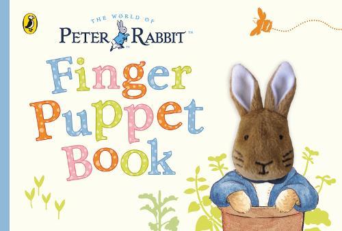 Peter Rabbit Finger Puppet Book - PR Baby books (Board book)