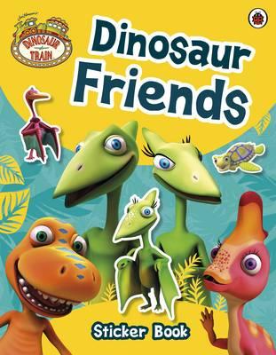 Dinosaur Train: Dinosaur Friends Sticker Book - Dinosaur Train (Paperback)