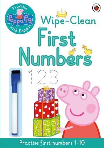 Peppa Pig: Practise with Peppa: Wipe-Clean First Numbers - Peppa Pig (Paperback)