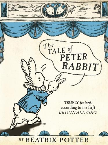 The Tale Of Peter Rabbit - Beatrix Potter Originals (Hardback)