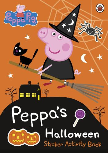 Peppa Pig: Peppa's Halloween Sticker Activity Book - Peppa Pig (Paperback)