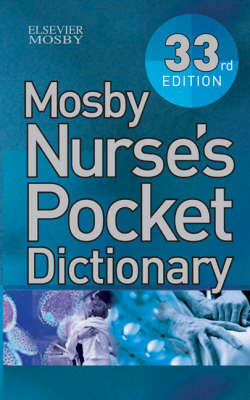 Mosby Nurse's Pocket Dictionary (Paperback)