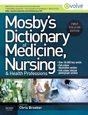 Mosby's Dictionary of Medicine, Nursing and Health Professions UK Edition (Hardback)