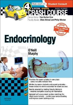 Crash Course Endocrinology: Updated Print + E-book Edition - Crash Course (Paperback)