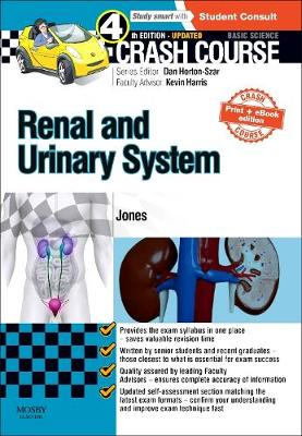 Crash Course Renal and Urinary System Updated Print + eBook edition - Crash Course (Paperback)
