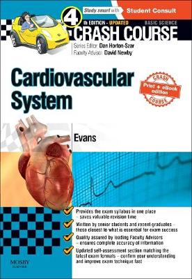 Crash Course Cardiovascular System Updated Print + E-Book Edition - Crash Course (Paperback)
