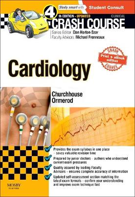 Crash Course Cardiology Updated Print + eBook edition - Crash Course (Paperback)