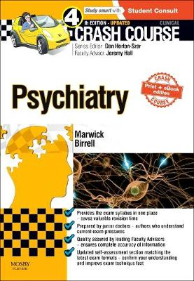Crash Course Psychiatry Updated Print + E-Book Edition - Crash Course (Paperback)