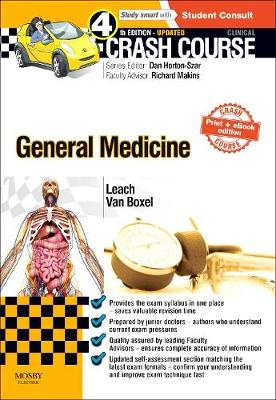 Crash Course General Medicine Updated Print + eBook edition - Crash Course (Paperback)