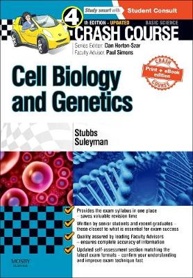 Crash Course Cell Biology and Genetics Updated Print + eBook edition - Crash Course (Paperback)