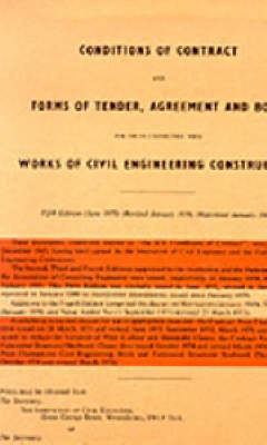 ICE Conditions of Contract (Paperback)